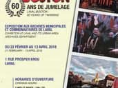 LAVAL BOSTON - 60 ANS DE JUMELAGE